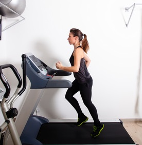 Marathonvorbereitung mit Laufband